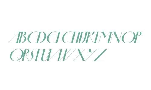 Oldsman No.1 Italic