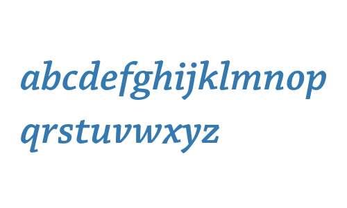 Chaparral Pro Semibold Italic Caption