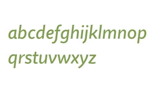 Quire Sans W04 Medium Italic