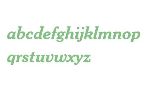 Cheltenham Bold Italic
