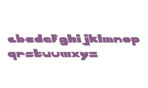 CorTen Closed W00 Fat A Italic