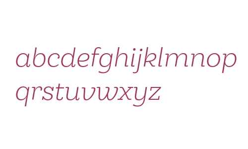 Hernandez Niu W00 Light Italic
