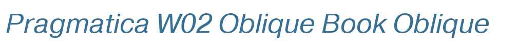 Pragmatica W02 Oblique