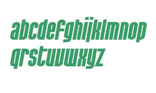 SF Port McKenzie Extended Bold Italic V2 V2