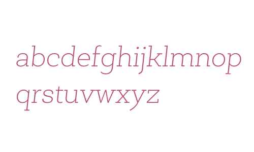 Newslab W03 Thin Italic