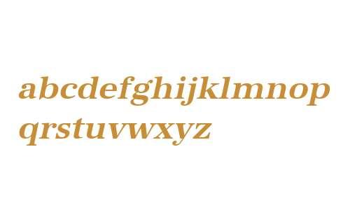 URWAntiquaWid W01 Bold Oblique