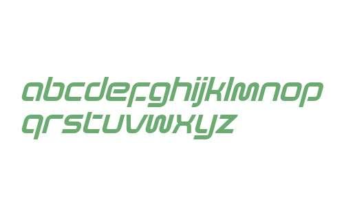 Evolver W10 Italic