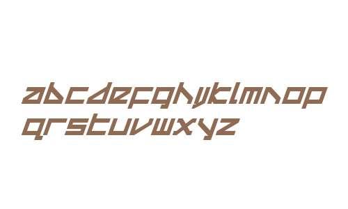 Delta Ray Bold Compact Italic