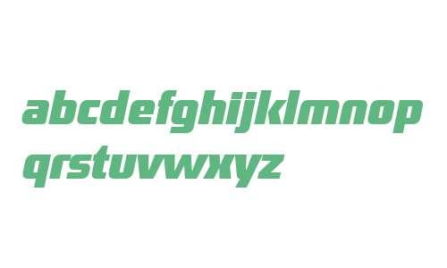 District OT W03 Bold Italic