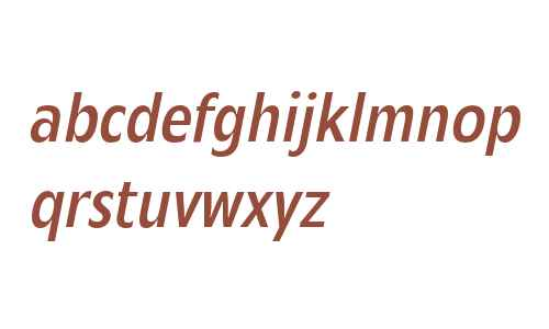 Mensa Condensed W01 Regular It