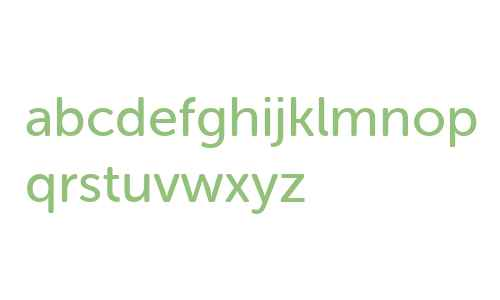 Museo Sans Rounded 500 Regular