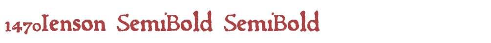 1470Jenson SemiBold