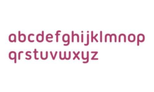 Halftone Font Bold