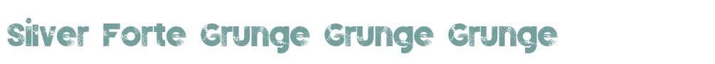 Silver Forte Grunge Grunge