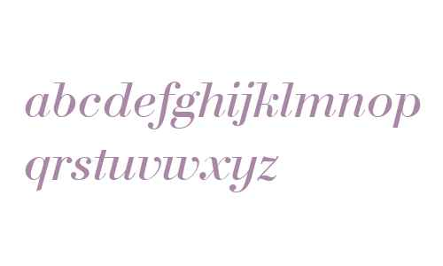 BodoniC Italic