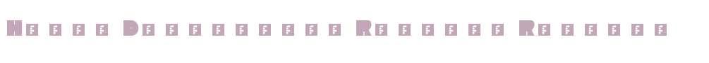 Heavy Diacritics Regular