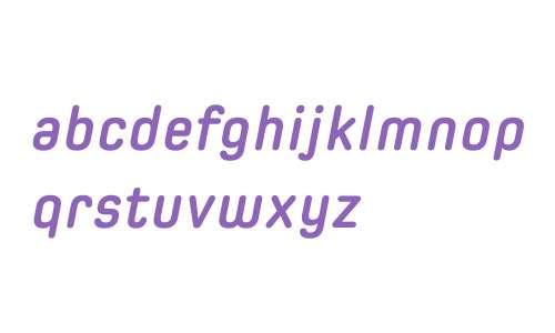 Spoon W03 Bold Italic