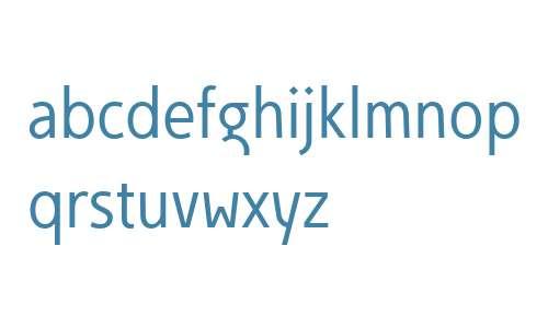 Egon Sans Condensed W01 A Light