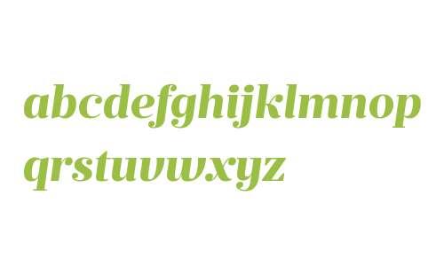 Prumo Deck W00 ExtraBold Italic