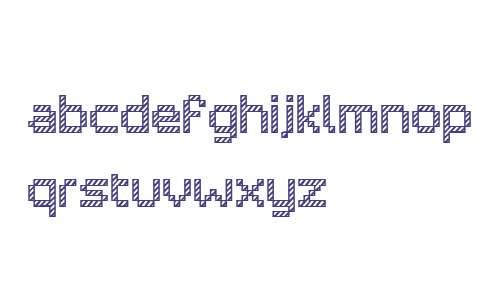 Pixelar Outline Textured W01 Rg
