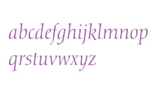 Calligraphic 810 W03 It