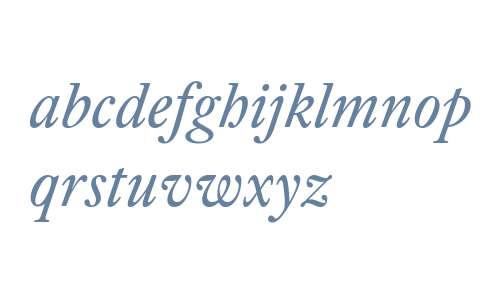 18225ecca4ed57d6 - subset of William Subhead Pro Reg Ita