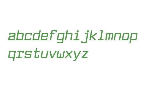 Larabiefont Bold Italic