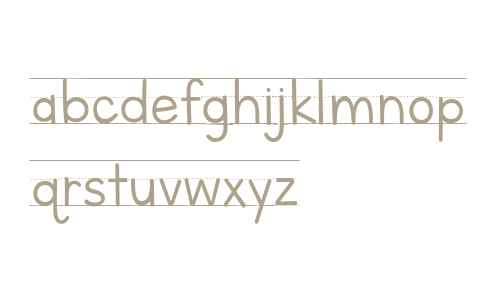 Letters for Learners Lined