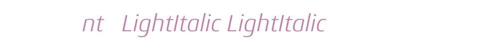 OZJQGO+Conto-LightItalic