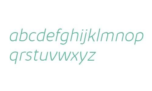 Kabrio Abarth ExtraLight Italic