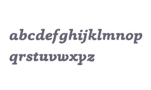 Anaphora Trial ExtraBold Italic