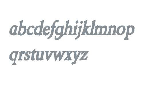 Berylium Ink Italic