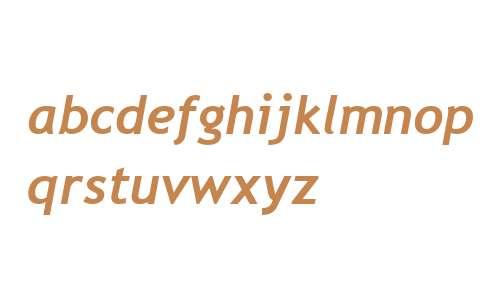 Trebuchet W99 Bold Italic