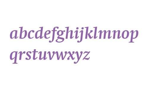 Swift LT W04 Bold Italic