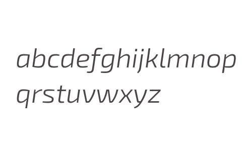 Exo 2.0 Light Italic