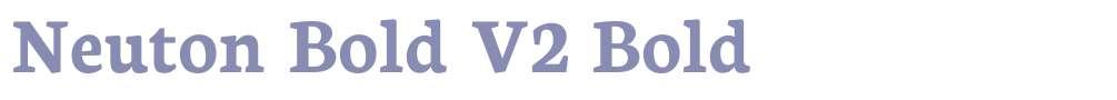 Neuton Bold V2