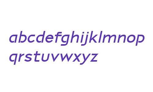 P22 Coda W01 Pro Bold Italic
