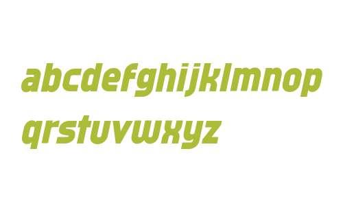 Typo Oval Black Demo Italic
