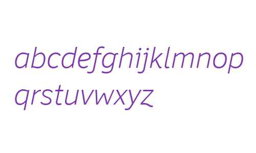 Felbridge W04 Light Italic