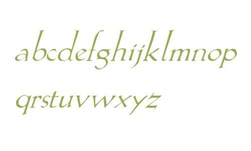 Lilith Italic V1