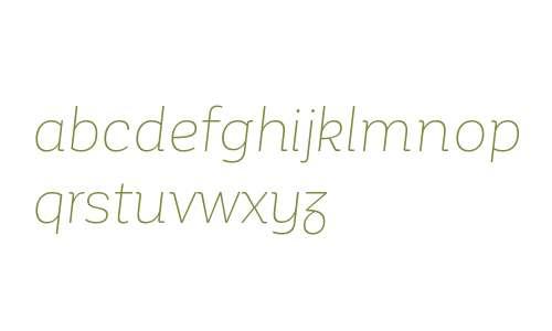 Corporative Alt W00 Thin Italic