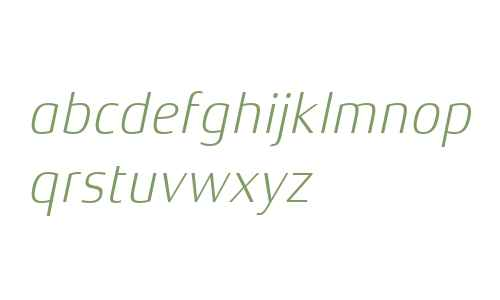 Xenois Semi W04 Light Italic