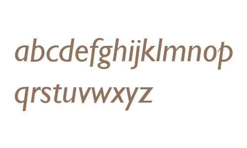 Gill Sans W04 Italic