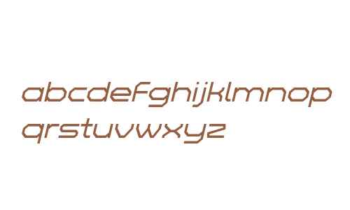 Zelta-Six Demo Light Italic
