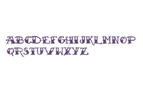 Sailor's Fat Tattoo Script