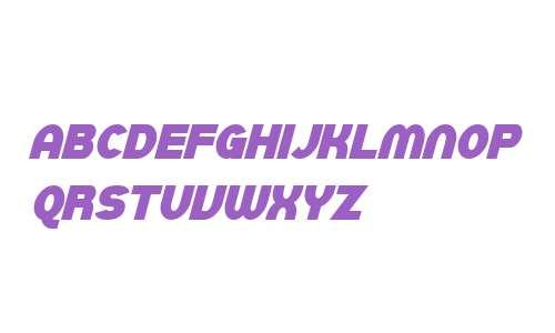 SF Juggernaut Condensed Bold Italic V1 V2