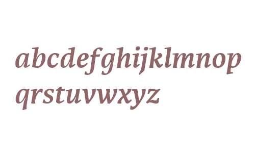 Karmina W02 Bold Italic