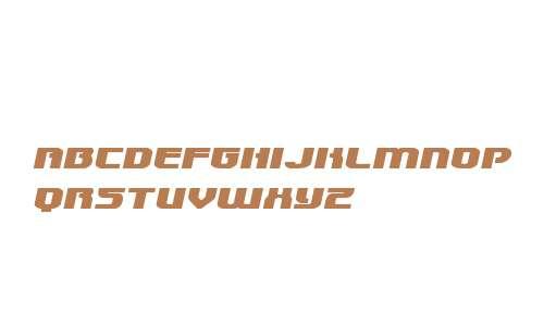 Speedwagon Extra-Expanded Italic