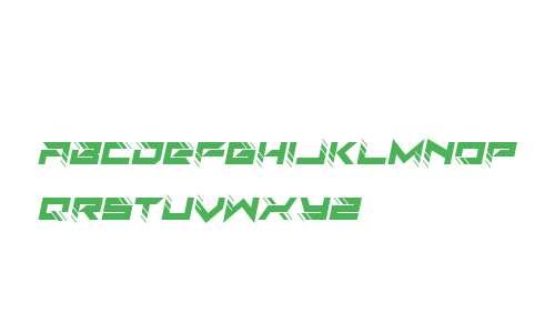 Auto Techno Italic
