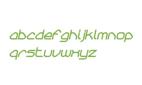 Sylar W00 ExtraBold Italic